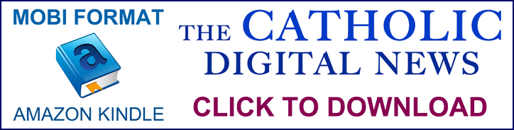 link to download the current issue of The Catholic Digital News in MOBI format
